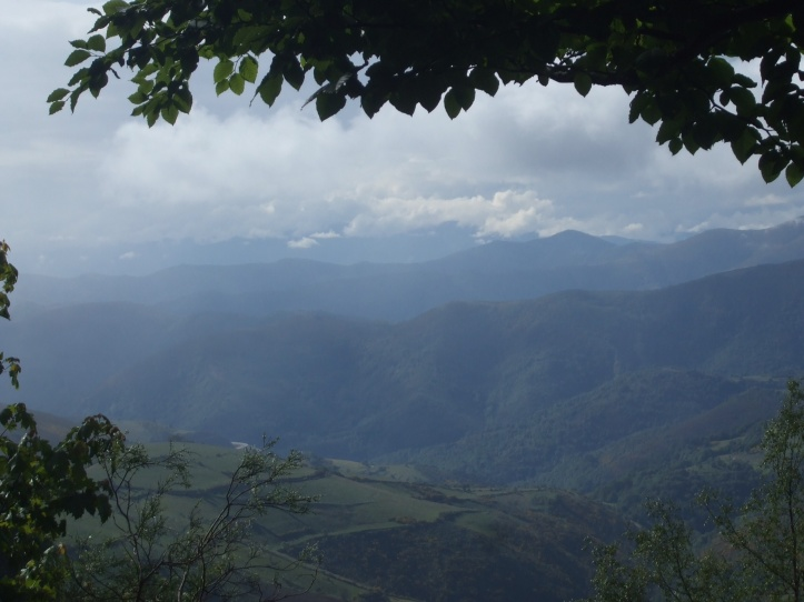 Down the Valcarce valley