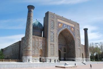 Sher Dor Madrassa, Registan, 1